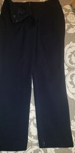 Navy Blue New York and Company Ankle Pants